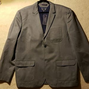 Tommy Hilfiger grey unlined blazer